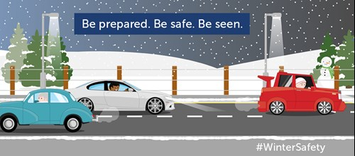 Winter Road Safety - Driving safely